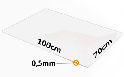 Mata ochronna -  100x70cm x 0,5mm